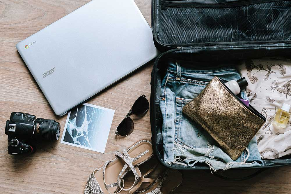 suitcase packing hacks