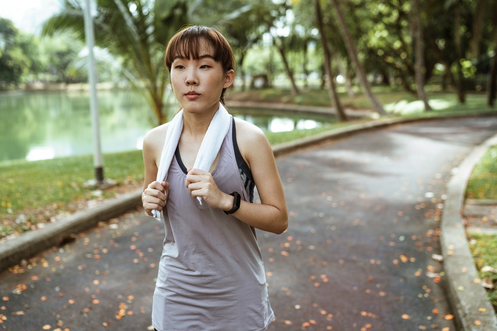 Staying healthy and active
