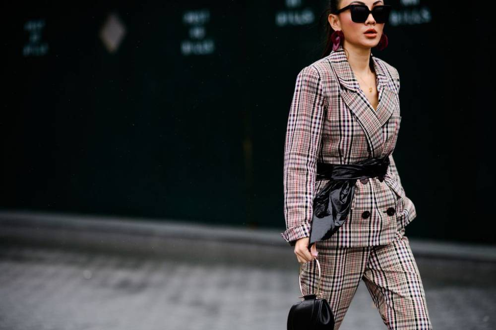 A guide to how to style plaid prints