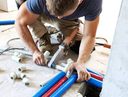 PVC pipes for plumbing